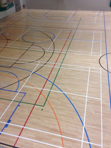 Sports Hall Floors Sanding And Sealing Services